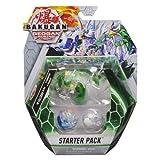 Bakugan スターターパック 3パック ダイヤモンドファルクロンウルトラ ジオガンライジング コレクタブルアクションフィギュア