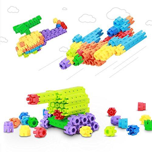 [해외]VFunix 적목 사고력 창의력 응용력을 기르는 교육 장난감 블록 퍼즐 수납 백 첨부 생일 크리스마스 선물 입학 입학 · 진학 축하/VFunix Building Thinking Power Creativity Improving Applied Education Toys Block Puzzle Storage with Back Birt...
