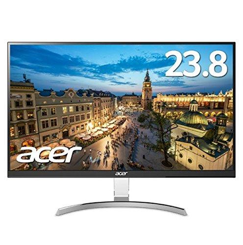 Acer モニター ディスプレイ RC241YUsmidpx (23.8インチ/IPS/非光沢/QHD/DVI-D(Dual Link対応)・HDMI・Disp...