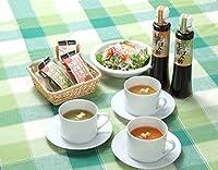 「野菜みそすうぷ80g×6」と「ぽん酢(柚子200ml×1、生姜200ml×1)の詰め合わせセット