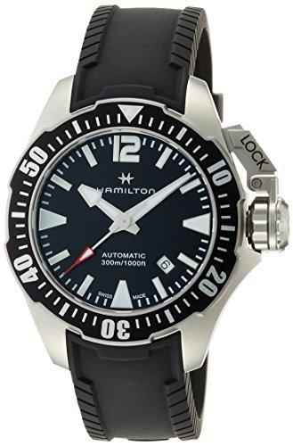 [ハミルトン]HAMILTON 腕時計 正規保証 カーキネイビー オープンウォーター オート ダイバーズ H77605335 メンズ 【正規輸入品】