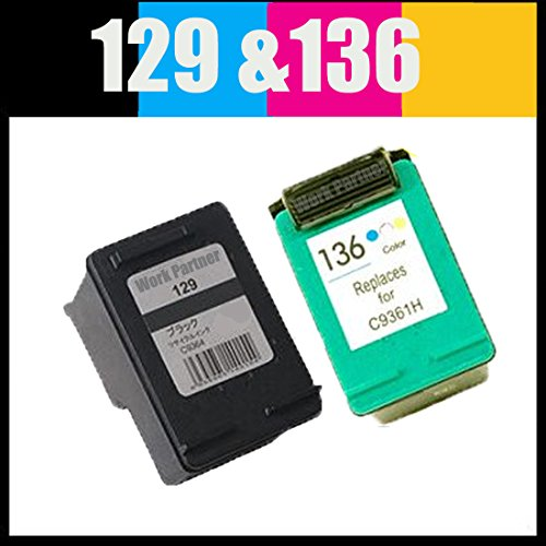 Work Partner HP129 + HP136 プリン...