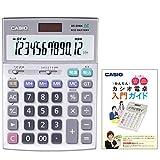 カシオ 本格実務電卓 DS-20WK セット 検算・税計算 デスクタイプ 12桁 DS-MY20