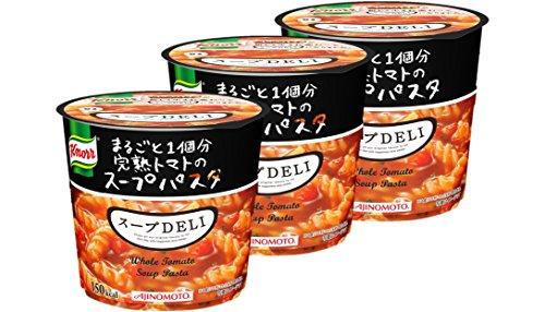 クノール スープDELI まるごと1個分完熟トマトのスープパスタ 41.9g×3個