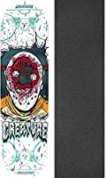 "Creature Skateboards Slapshot SM Everslickスケートボードデッキ – 8.2 "" X 31.925 "" with Mob Grip Perforated Griptape – 2アイテムのバンドル"