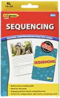 (Sequencing, Yellow) - Edupress Reading Comprehension Practise Cards, Sequencing, Yellow Level (EP62994)