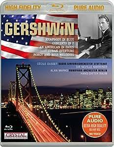 ラプソディ・イン・ブルー、パリのアメリカ人、ピアノ協奏曲、他 ウーセ、マリナー&シュトゥットガルト放送響、他