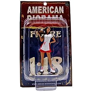 1/18 American Diorama Carhop Waitress - Brittany 女性 ウェイトレス フィギュア 模型