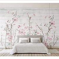 Weaeo 3Dの木の背景桜フラワーの壁画のための壁画3DのFlwoer壁紙の壁画3Dの壁の壁画の3D壁紙-400X280Cm