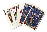 コンコード、マサチューセッツ州–ポール・リビア( Playingカードデッキ–52カードPokerサイズwithジョーカー)