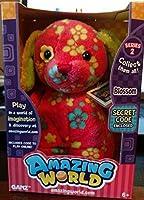 Amazing World Series 2 Blossom the Dog Interactive Plush Toy - 5.5 by Amazing World