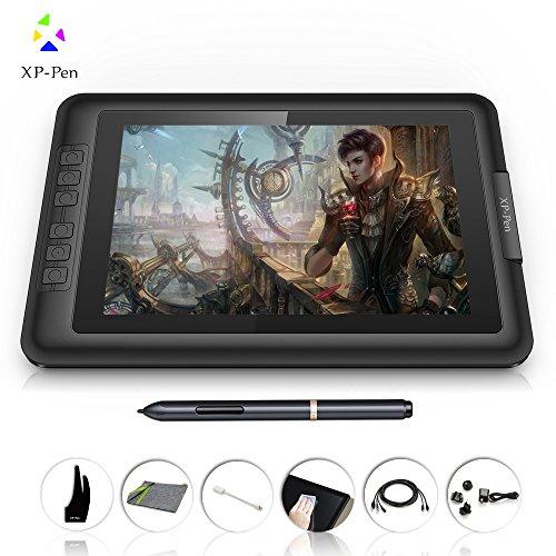 XP - Pen 10.1インチ 液晶ペンタブレット IPSモニタ 2048レベル筆圧 スタイラスペン お絵かき液タブ Artist10S