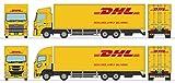 ザ・トラックコレクション トラコレ DHL大型トラックセット ジオラマ用品 (メーカー初回受注限定生産)