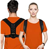 Posture Corrector for Men and Women - Posture Brace, Adjustable Upper Back Brace for Clavicle Support and Providing Pain Reli