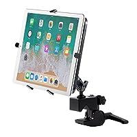 サンワダイレクト iPad タブレット アームスタンド ポール/支柱 デスク取付対応 9.7~13インチ対応 100-LATAB006