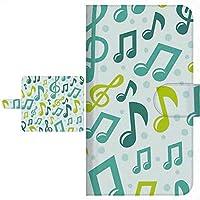 Ploom TECH プルームテック 専用 手帳型ケース 楽器&ミュージック シリーズ 全面印刷 016