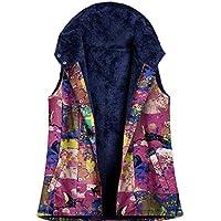 Macondoo Women Fleece Jacket Hoodies Parka Warm Waistcoat Fall Winter Vest