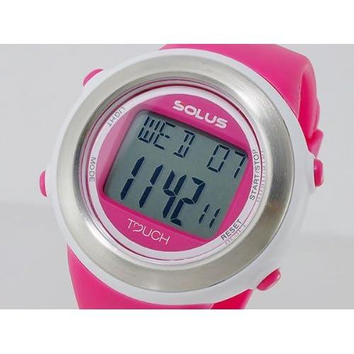 ソーラス SOLUS デジタル ユニセックス 心拍計測機能付き デジタル 腕時計 01-850-004