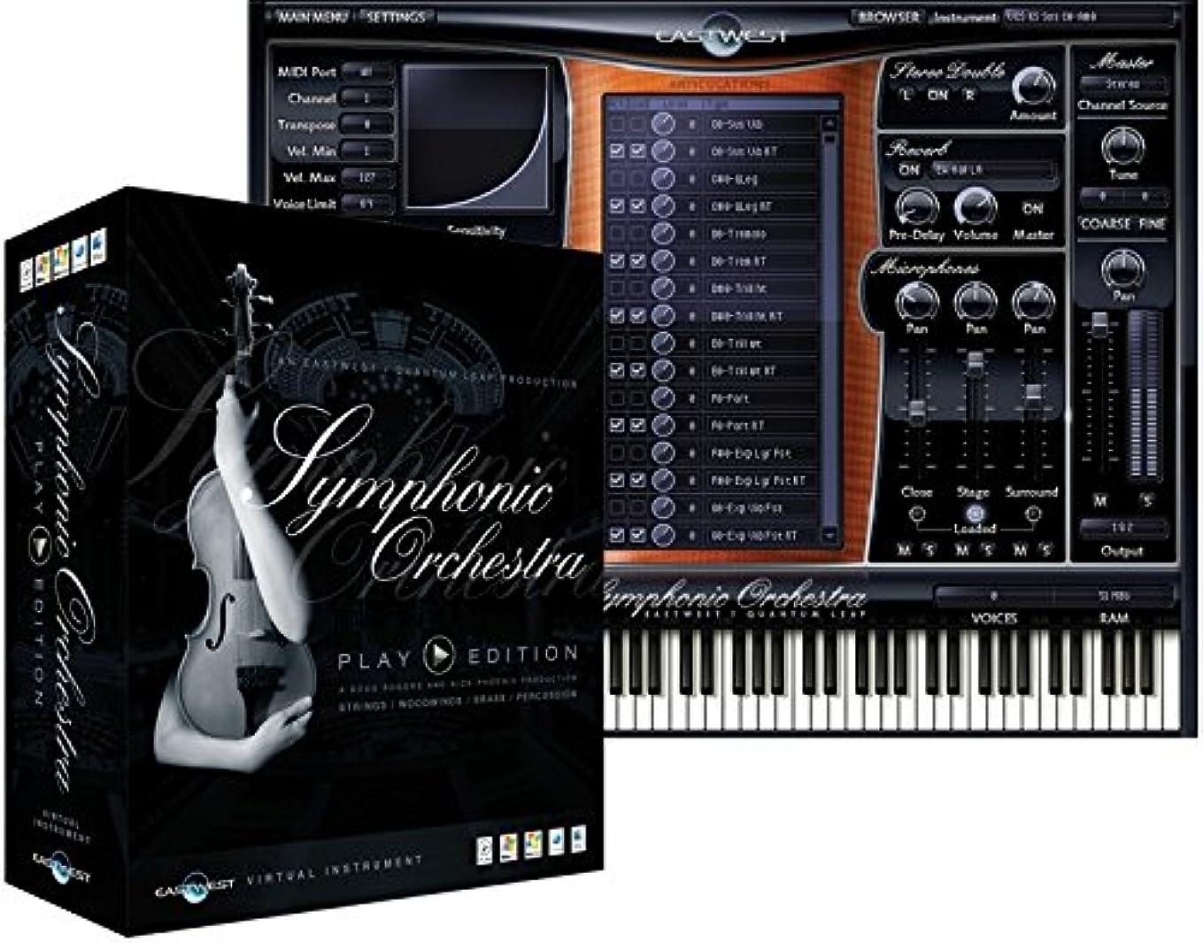 中断懐疑論不満East West Symphonic Orchestra Platinum Plus Mac(EW177M) オーケストラ音源コ レクション マックフォーマットHDD