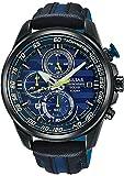 [セイコー パルサー] SEIKO PULSAR 腕時計 WRC RALLY M-Sport ラリー ソーラー クロノグラフ ブルー / ブラック 世界限定2000本 メンズ PZ6019X1 [並行輸入品]