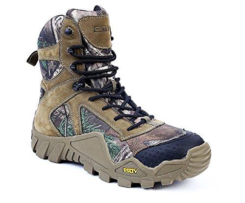 [해외]트레킹 슈즈 위장 무늬 남성 등산화 미끄러지지 않는 가죽 내구성 정글 사막/Trekking Shoes Camouflage Pattern Men`s Mountaineering Shoes Slip resistant Leather Durable Jungle Desert