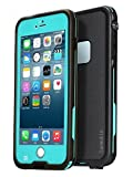 Sunwukin 網 スマホ用防水ケース iPhone 6/6s Plus 5.5 インチ 対応 防塵 防雪 耐衝撃 IP68 Touch ID 認証「ブルー」