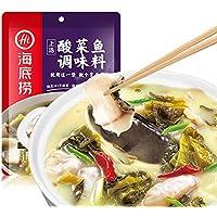 酸菜鱼 調味料 调味料 调味品 海底捞上汤酸菜鱼调味料 厨房调料 360g