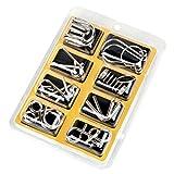 SENYON 知恵の輪 チャイニーズリング パズル 玩具 8個セット (イエロー)