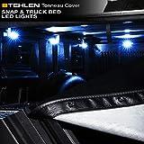Stehlen 733469489399 隠しスナップ式トノーカバー トラックベッドLEDライト付き