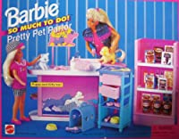 Barbie So Much To Do Pretty Pet Parlour Playset