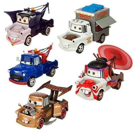Disney Cars2 カーズ 2  トゥ・メーター プレイセット Mater Die Cast Set 5種類セット
