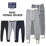 (ワラワラスポーツ)WALLA WALLA SPORT wws-018 ベーシック サーマル ドロワー BASIC THERMAL DRAWER/ レギンス/ タイツ L HGREY
