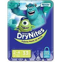 Huggies DryNites, Boys, Size 2-4 Years (Pack of 33)