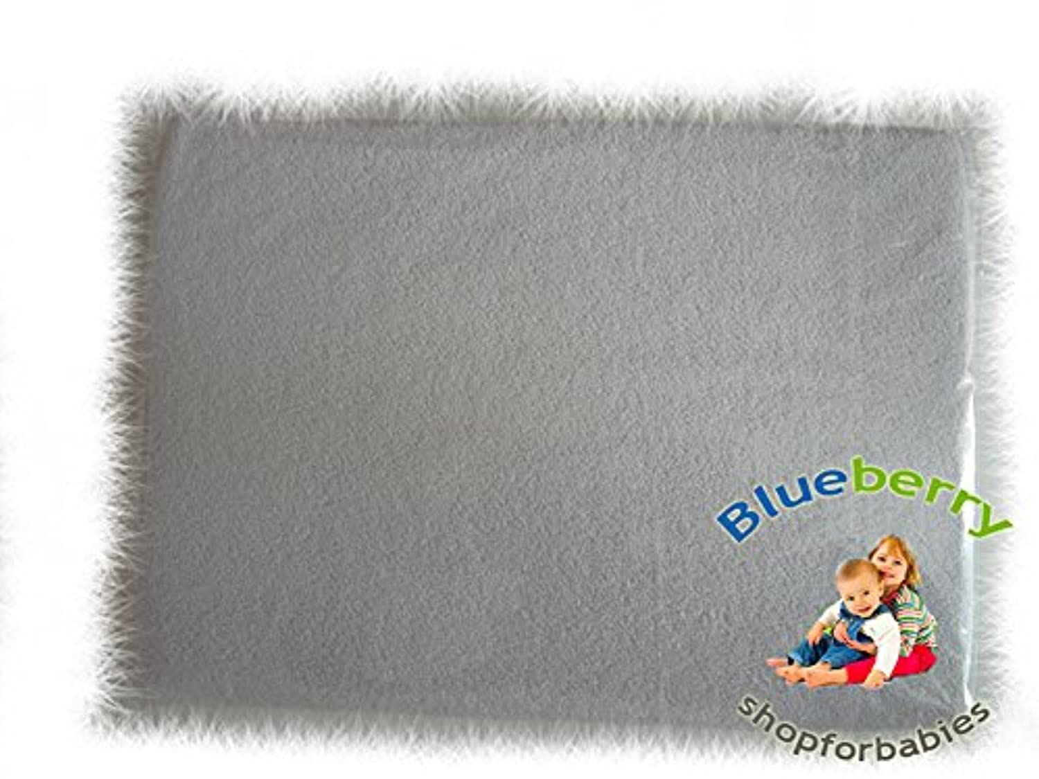 BlueberryShop 2x TERRY TOWELLING FITTED SHEET TODDLER BED BABY COTBED 60 X 120 cm (23,5