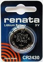 レナータ CR2430 リチウム 3V ボタン電池 2個入 スイス製 - 2PC Renata CR2430 Swiss Made