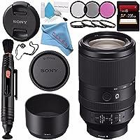 Sony FE 70–300mm f / 4.5–5.6G OSSレンズsel70300g + 72Mm Uvフィルタ+レンズペンクリーナー+ FiberCloth +レンズCapkeeper +デラックスクリーニングキットバンドル
