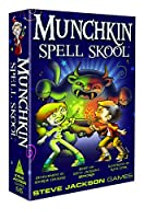Munchkin Steve Jackson Spell Skool Card Game
