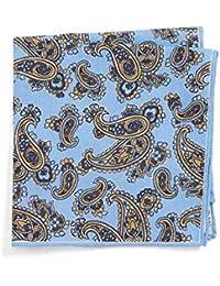 (カナーリ) CANALI メンズ ハンカチ・チーフ Paisley Cotton Pocket Square [並行輸入品]