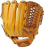 adidas(アディダス) 野球 軟式 グラブ アディダスプロフェッショナル 遊撃手用 BID50 カレッジゴールド×クラフトオークルF 16 ×ゴールドメット(AZ9688) LH(右投げ用)