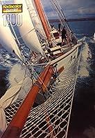 2000Kodacolor–Freja Sailing Yacht–1000Pieceパズル–19x 27インチ