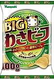 山芳製菓 ポテトチップス BIGわさビーフ 100g ×6袋