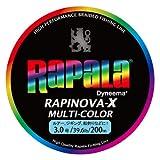 ラパラ(Rapala) PEライン ラピノヴァX マルチカラー 200m