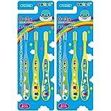 スケーター 歯ブラシ 幼児期用 0-3才 普通 6本セット (3本セット×2個) とれたんず 15cm TB4T