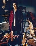 SP:大きな写真、オーランド・ブルーム、真っ赤のコート