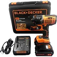 ブラックアンドデッカー(BLACK+DECKER) コードレスインパクトドライバー 18V EXI18