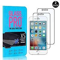 【2枚セット】 iPhone 7 Plus / 8 Plus 超薄 フィルム CUNUS Apple iPhone 6 Plus / 6S Plus 専用設計 強化ガラスフィルム 高透明度で 気泡防止 飛散防止 硬度9H 耐衝撃 超薄0.26mm 液晶保護フィルム