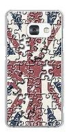 ギャラクシー フィール SC-04J クリアケース EK803 ユニオンジャックパズル  素材クリア【ノーブランド品】