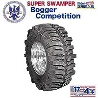 [ INTERCO TIRE ]タイヤ4本 super swamper スーパースワンパー Bogger Competition ボガーコンペディション42.5x13.5/17 バイアス