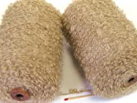 キッドモヘアループ(太)(ベージュ) やわらかくて肉厚のモヘアループでふんわりした作品に!