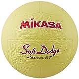 ミカサ ソフトドッジボール2号 軽量190g イエロー 日本ドッジボール協会推薦球 小学校用 STD-2R Y